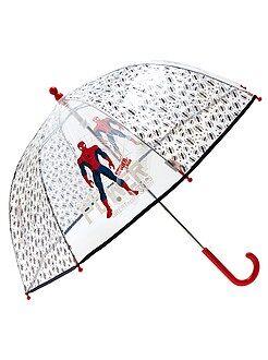 Accesorios - Paraguas transparente 'Spiderman'