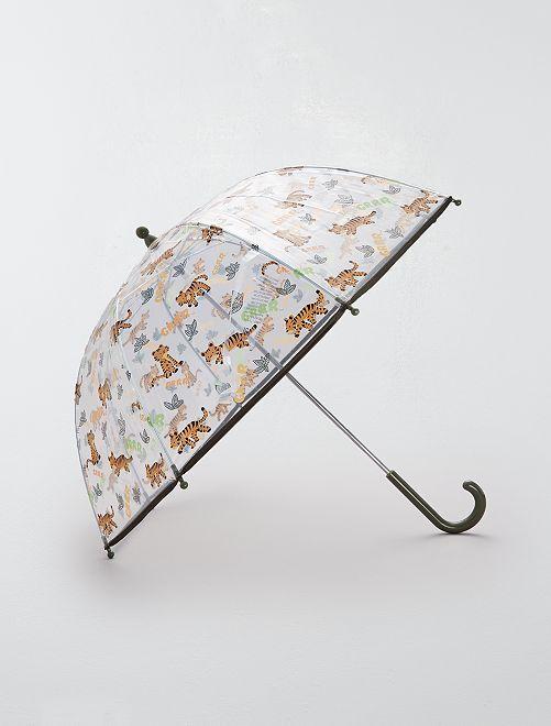 Paraguas transparente 'Unicornio'                                                                 NARANJA