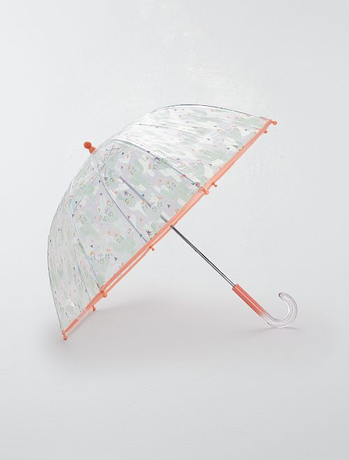 Paraguas transparente 'Unicornio'                                                                             ROSA