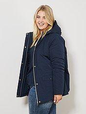 calidad asombrosa varios estilos tienda de descuento parkas en tallas grandes de mujer baratas - moda Tallas ...