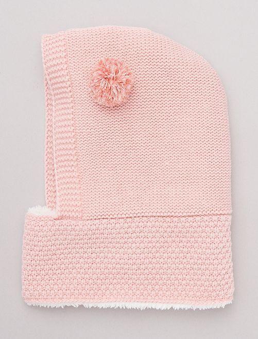 Pasamontañas forrado                                         rosa