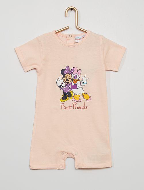 Pelele 'Minnie y Daisy'                             rosa