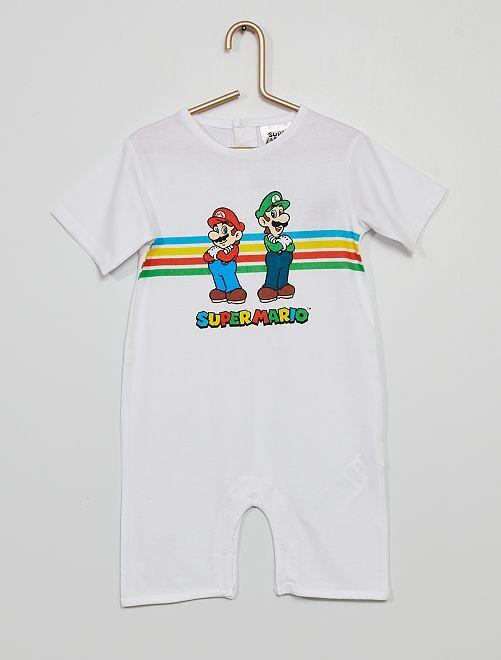 Pelele 'Super Mario'                             blanco