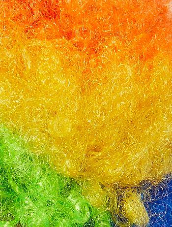 Peluca afro Accesorios multicolor Kiabi 6 00€ 6a9d4f00dff