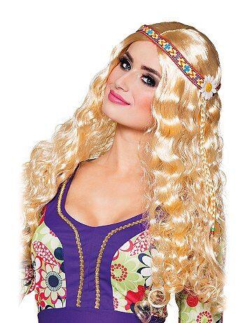Peluca hippie con cinta - Kiabi