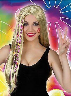 Peluca mujer hippie