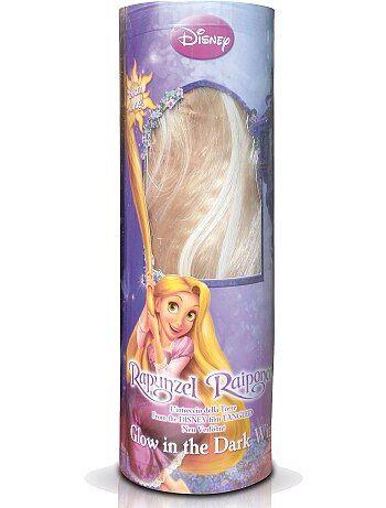 Peluca rubia 'Rapunzel' - Kiabi