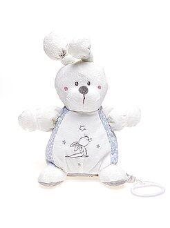 Niño 0-36 meses Peluche conejo musical