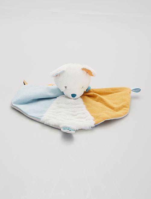 Peluche de 'oso'                             blanco/azul