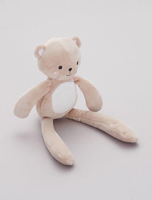 Peluche de terciopelo 'mono'                     oso