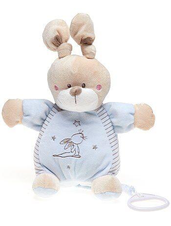 Peluche musical de conejo - Kiabi
