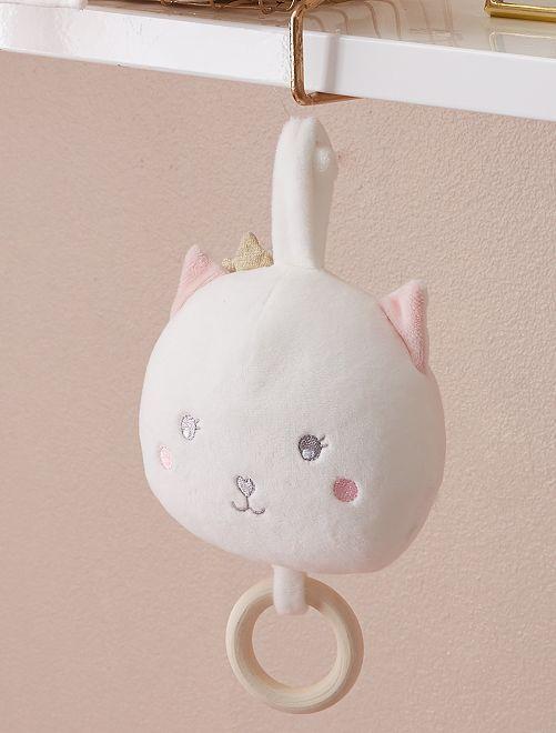 Peluche musical 'gato'                             BEIGE