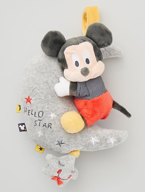 Peluche musical 'Mickey'                             gris