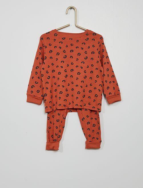 Pijama 'ardillas'                             ROJO
