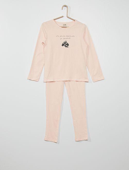 Pijama 'bailarinas'                                                                                         ROSA