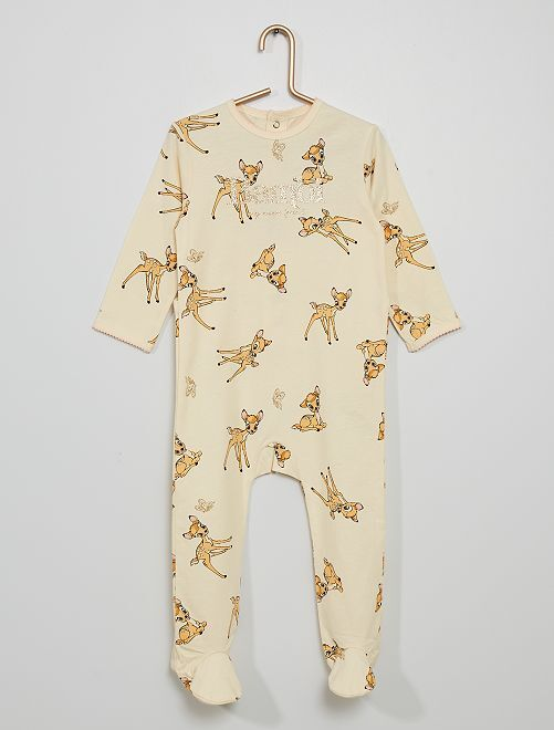 Pijama 'Bambi' de 'Disney'                                                     BEIGE