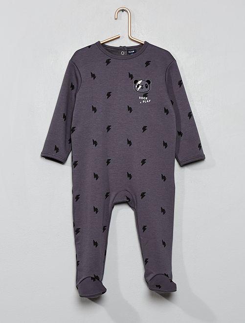 Pijama cálido                             GRIS