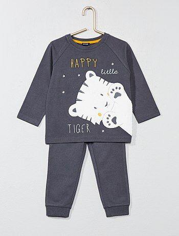 Pijama con adorno de 'tigre' - Kiabi