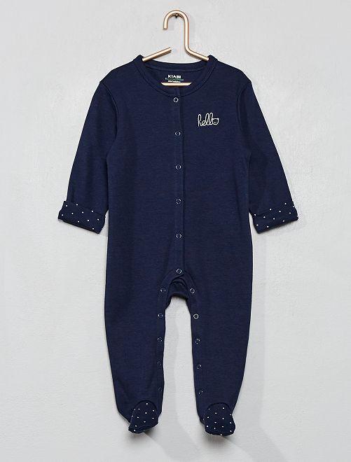 Pijama con estampado de 'estrellas'                                                     azul iris
