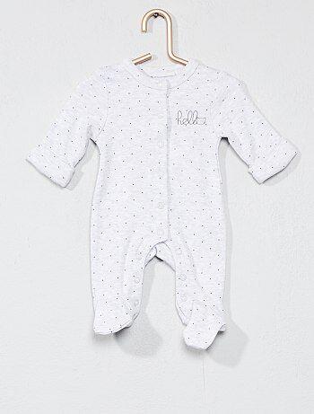 Pijama con estampado de 'estrellas' - Kiabi