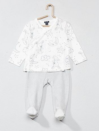 Niña 0-36 meses - Pijama con estampado de 'estrellas' - Kiabi