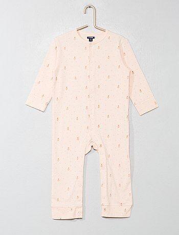 Niña 0-36 meses - Pijama con estampado de  piña  - Kiabi 8c5b71199c3