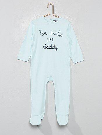 Pijama con 'mensaje' estampado - Kiabi c003856f1338