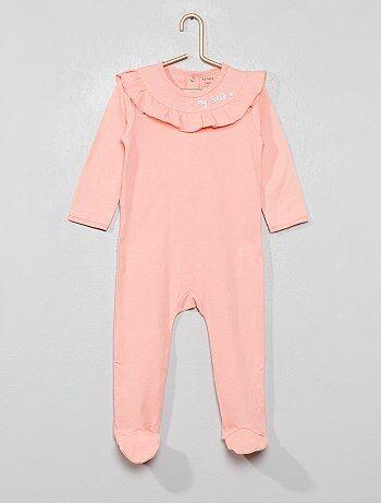 55e1b7ff47 Pijama con volantes - Kiabi