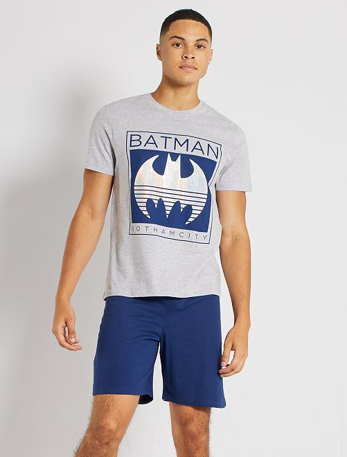 Pijama corto 'Batman'                             GRIS