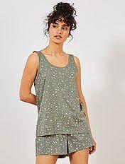 34545d552af6 Conjuntos de pijamas cortos para mujer - Lencería | Kiabi