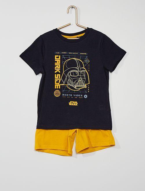 Pijama corto de algodón 'Star Wars'                                         AZUL