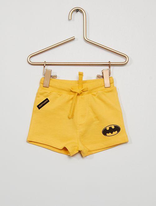 Pijama corto de 'Superman' eco-concepción                                         AMARILLO