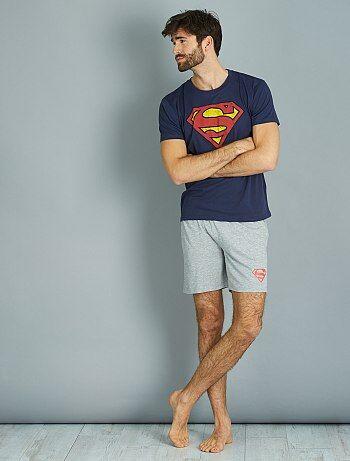 Pijama corto de 'Superman' - Kiabi
