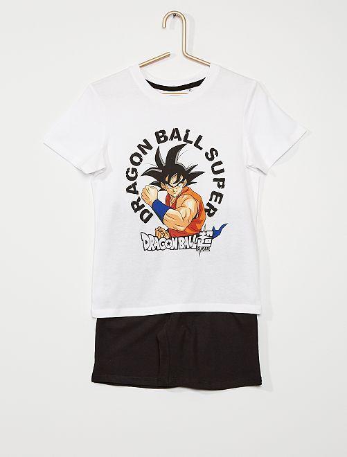 Pijama corto 'Dragon Ball Z'                             blanco
