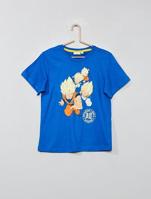 e7a020a290 Pijama corto  Dragon Ball Z  fosforescente Chico - blanco azul ...