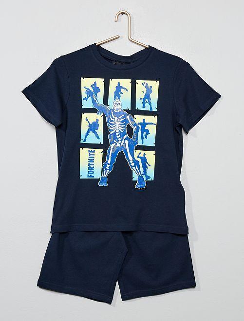 Pijama corto 'Fortnite'                             azul