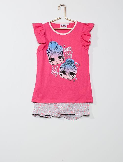Pijama corto 'L.O.L Surprise !'                                         fucsia