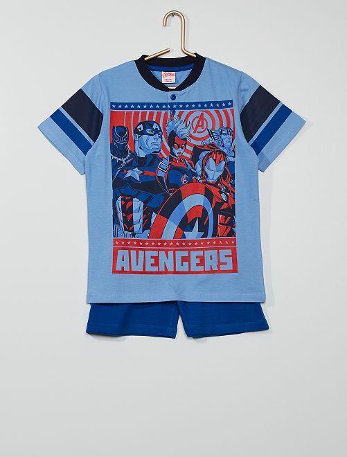 Pijama corto 'Los Vengadores' 'Marvel'                                         azul/marino