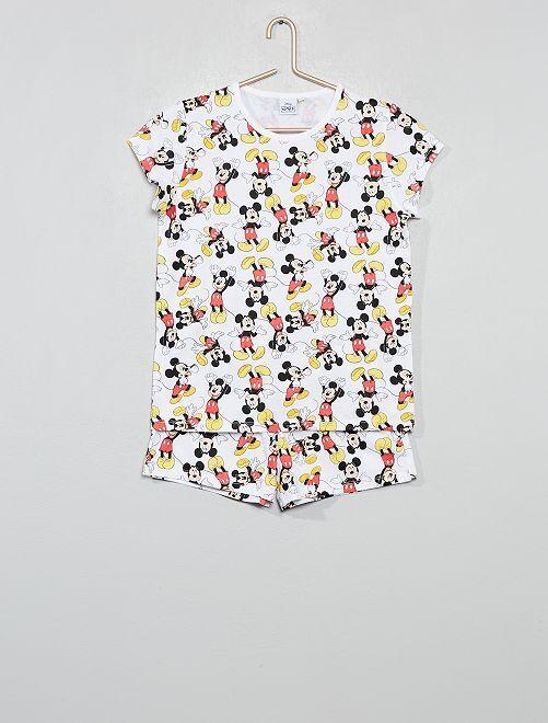 Pijama corto 'Mickey'                                         BLANCO