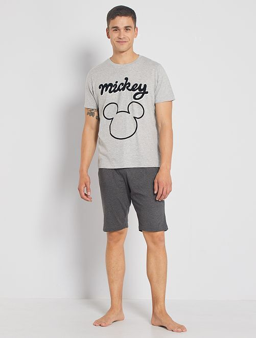 Pijama corto 'Mickey'                                         gris