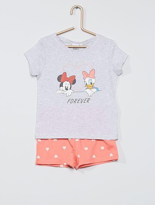 Pijama corto 'Minnie Mouse' Disney                             GRIS