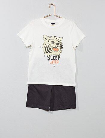 343ac13393 Pijama corto  océano  - Kiabi