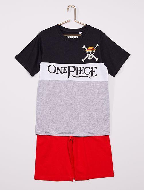 Pijama corto 'One Piece'                             GRIS