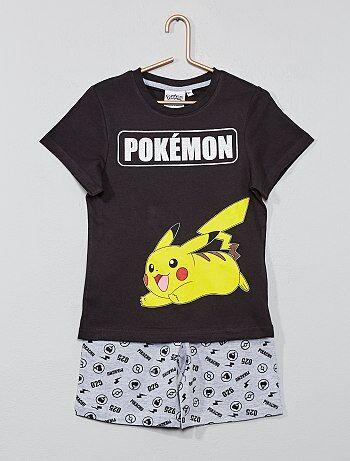 2bfb89115 Pijama corto  Pikachu  - Kiabi
