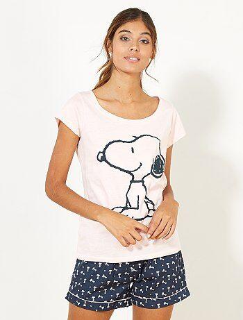 Pijama corto - Kiabi