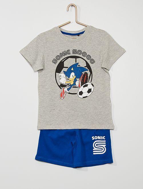 Pijama corto 'Sonic' 'Sega'                             GRIS