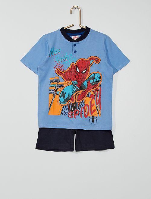 Pijama corto 'Spider-Man' de 'Marvel'                                         azul/marino