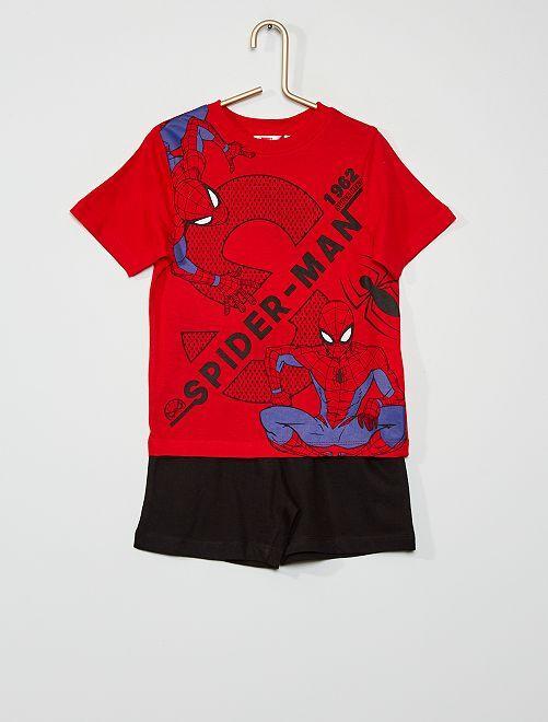 Pijama corto 'Spider-Man'                                         rojo/negro