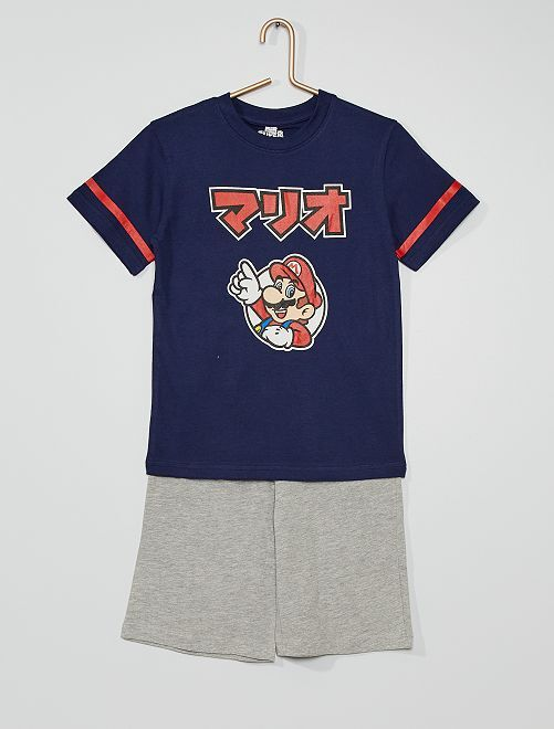 Pijama corto 'Super Mario'                             AZUL
