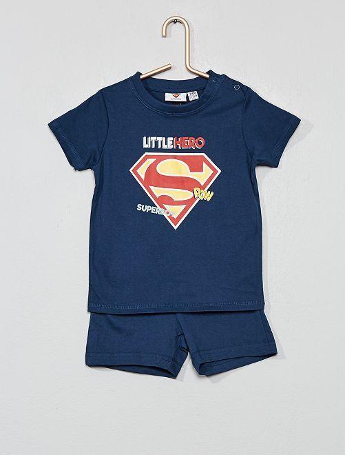 Pijama corto 'Superman'                             azul